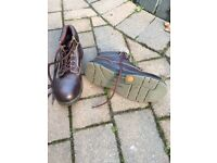 Steel toe cap boots/shoes size 8 new