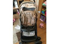 Graco travel system with car seat and car base