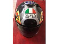 AVG JOKER MOTORCYCLE HELMET USED
