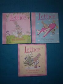 3 x Lettice Books (The Little Rabbit with Big Dreams) IP1