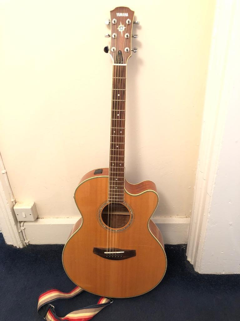 Yamaha Electro Acoustic Guitar Cpx700 Nt In Bicester Oxfordshire