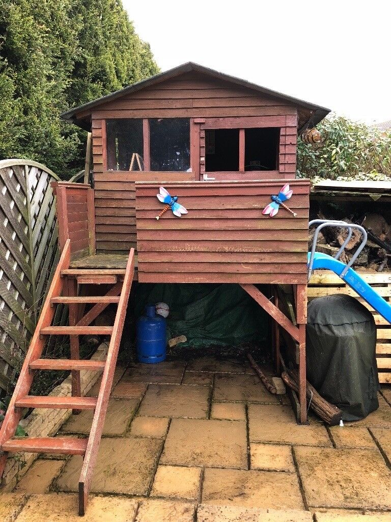 Beautiful Outside Wooden Playhouse Treehouse In Ramsey Cambridgeshire Gumtree