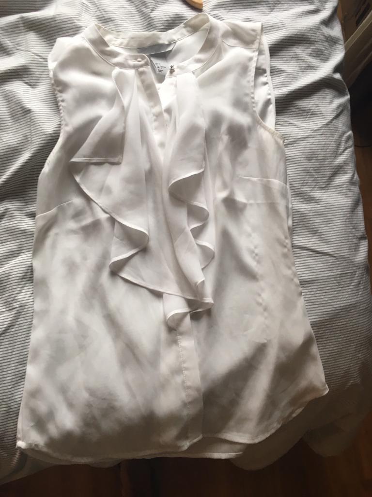 H&M elegant white blouse