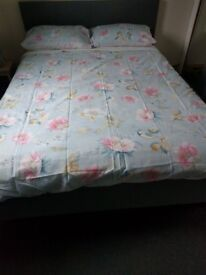 Double bed frame and mattress - brand new
