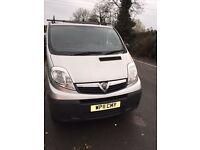 Vauxhall vivaro 115bhp