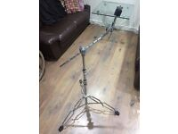 Pearl BC-800 Boom Stand Arm Telescopic, Solid 3 Stage, Double Braced