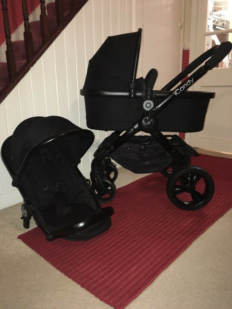 iCandy Peach 3 Jet Pram Puschair with Maxi Cosi Car Seat CAN POST