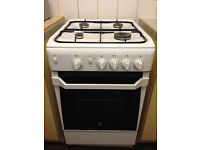Indesit Gas Cooker White