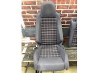 Mk5 golf Gti tartan seats