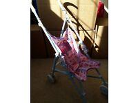 Peppa pig toy pushchair