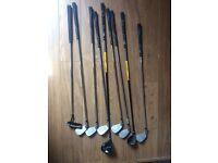 Men's right handed Wilson Ultra BLK Golf Clubs set