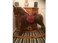 Mamas and Papas large rocking horse suit 3 to 5 yr old