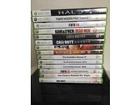 Xbox 360 Slim with game bundle