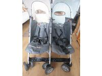 Cosatto you2 polkadogs double buggy