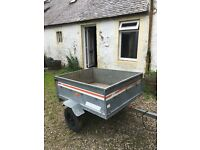 Erde 125cm light commercial trailer/camping trailer, ready to use