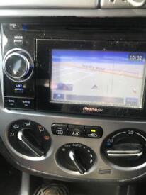 Pioneer avic double din touchscreen car sat nav stereo