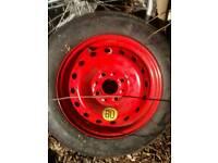 New Pirelli spare wheel 135/80 B13