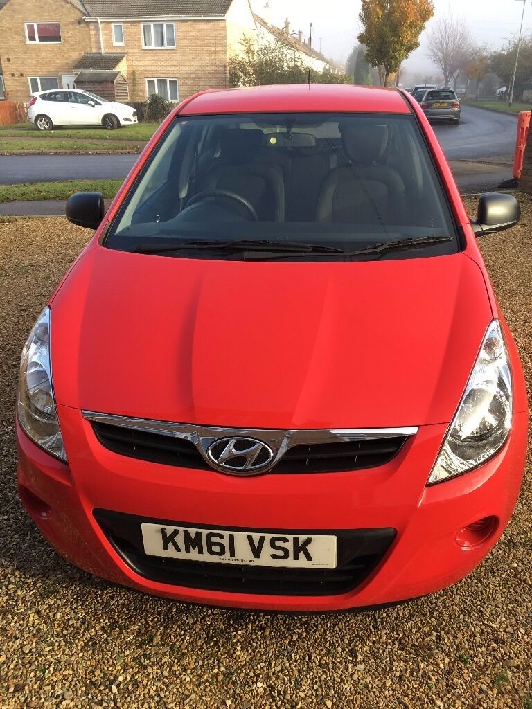 Hyundai i20 (2012 model), Full Service History, Next MOT due 22/