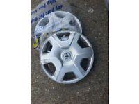 "Genuine Toyota Yaris 2x 14"" Wheel Cover"
