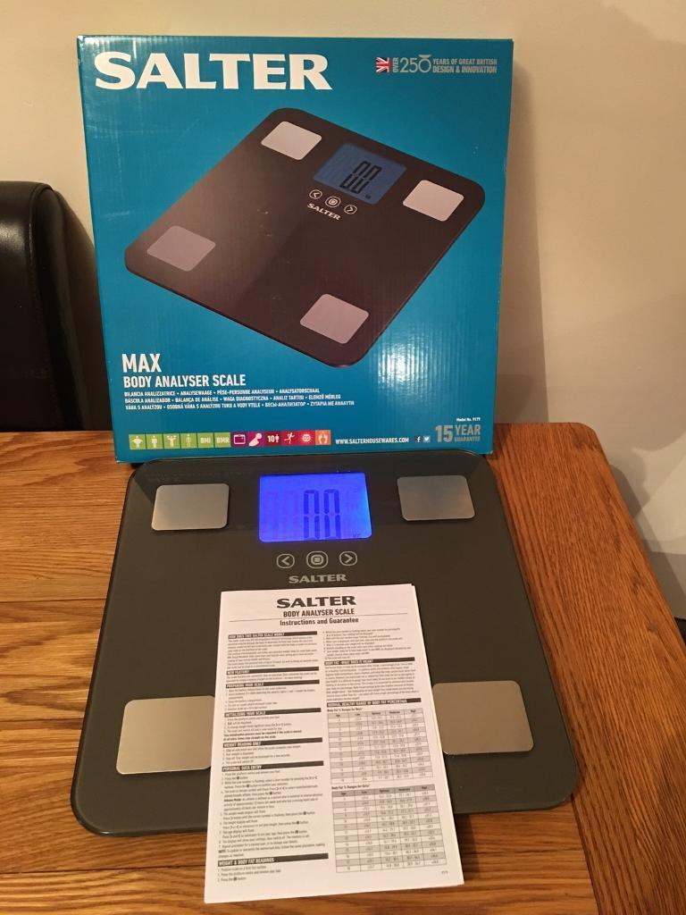 Salter Body Analyser Scales In Bicester Oxfordshire Gumtree