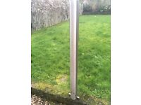 9 Stainless Steel Bollards Never Used Excellent Condition