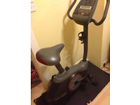 Hardly used indoor exercise bike