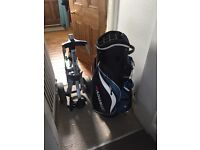 Cart bag and trolley