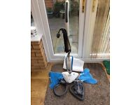 Vax floor steamer complete with accessories