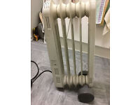 Bionaire Oil filled radiator only £5