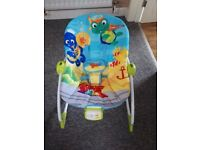 Baby Einstein Rocker Vibrate And Musical Chair, excellent condition