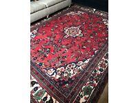 Beautiful large woolen rug