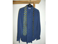 "SHIRT & TIE set ""Yves Saint Laurent"" Mans Adults Size16 inches / 41cm **WILLING TO POST**"