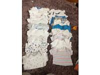BARGAIN 90+ items baby 0-3 & 3-6 month boy clothes