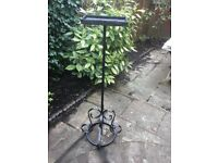 Wrought Iron flower arranging stand