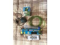 Fish tank filter, heater and syphon hose