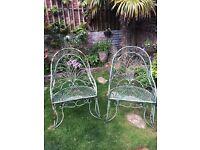 Garden Chairs.