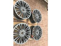 Ford Focus rs alloys mondeo transit connect 5x108