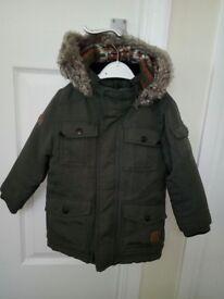 John Rocha coat. 12-18 months
