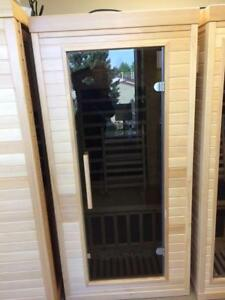 far infrared one person sauna on sale $1999, was $2399