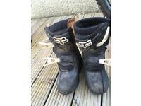Kids fix peewee Mx boots