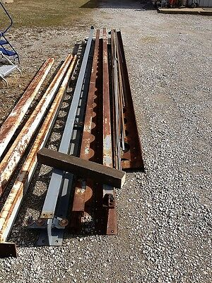 Cleveland Tramrail 20 Vintage Industrial Equipment Crane I Beam Architectural