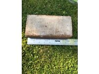 Free bricks used to be a path. 600-700. Approx 20cm x 9cm x 5.5cm