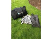 9 berth large tent. Minimal use excellent condition