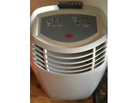 Air conditioning and dehumidifier.