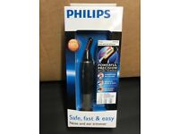 Phillips Nose and ear hair trimmer (New)
