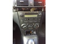 Toyota avensis 2003 to 2005 stereo cd player
