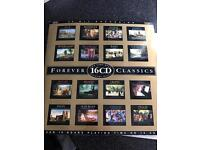 16CD classical music collection
