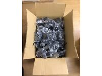 480 New PHONE CHARGERS - mostly pin heads, some flat, some pinhead car chargers