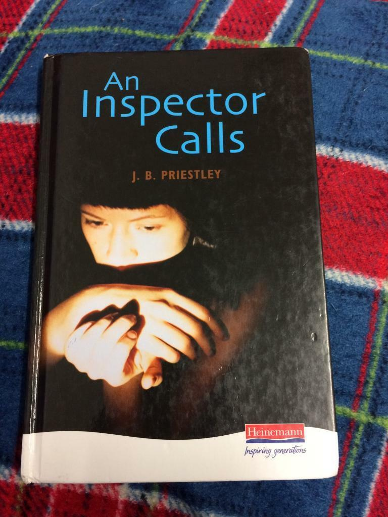 An inspector calls by J.B. Priestley book with annotationsin Leicester, LeicestershireGumtree - An inspector calls by J.B. Priestley in good condition. The writing as been annotated only £6.00 Free postage and packaging (signed for ) any questions please email me