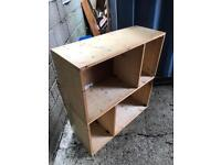 Large home made shelving unit FREE DELIVERY PLYMOUTH AREA